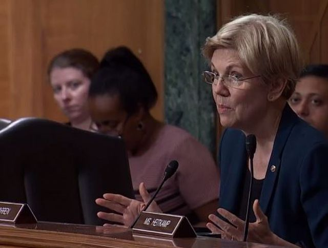 Sen. Elizabeth Warren (D-MA) told President-elect Donald Trump to get the Wall Street insiders off of his transition team, or she will oppose him every step of the way for the next four years.