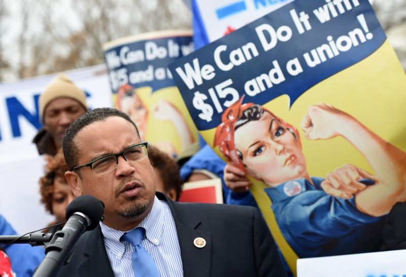Ellison rejects the choice between supporting the working class and supporting religious and ethnic minorities.