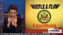 Rachel Maddow reports on the massive ExxonMobil deal with Russian oil that was held up because of U.S. sanctions on Russia for invading Ukraine, and how Donald Trump making the Exxon CEO his secretary of state could restore the deal.
