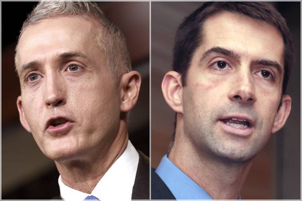 Whether it's defiance, stupidity or long-term political strategy, two GOP hard-liners swear they'll play tough