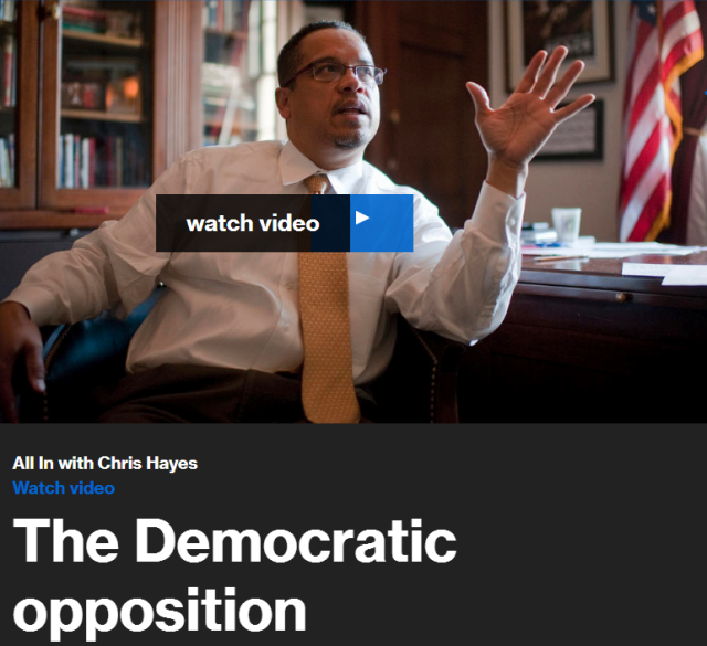 The big question now, for Democrats, is how to counter the Republican juggernaut. Rep. Keith Ellison, candidate for chairman of the Democratic National Committee, joins Chris Hayes to discuss.