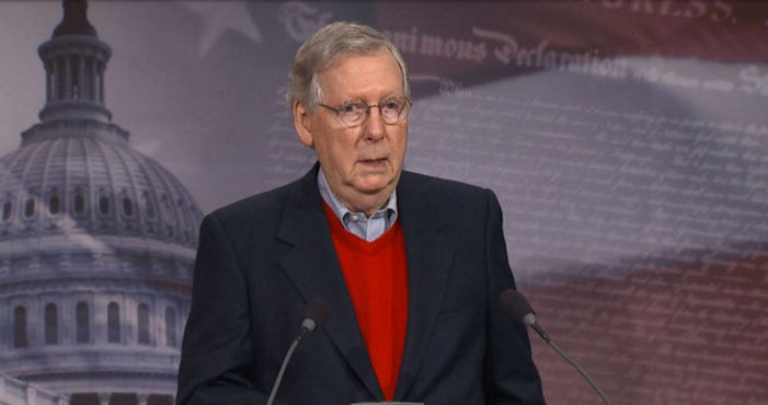 "Saying ""The Russians are not our friends,"" Mitch McConnell, who once dismissed the threat of Russian hacking, has finally responded to pressure and announced that the Senate intelligence panel will conduct an investigation of Russia's interference in the elections."