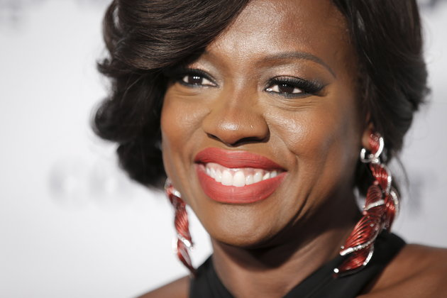 """Actress Viola Davis arrives for the """"Glamour Women of the Year Awards"""" in the Manhattan borough of New York November 9, 2015. REUTERS/Carlo Allegri"""