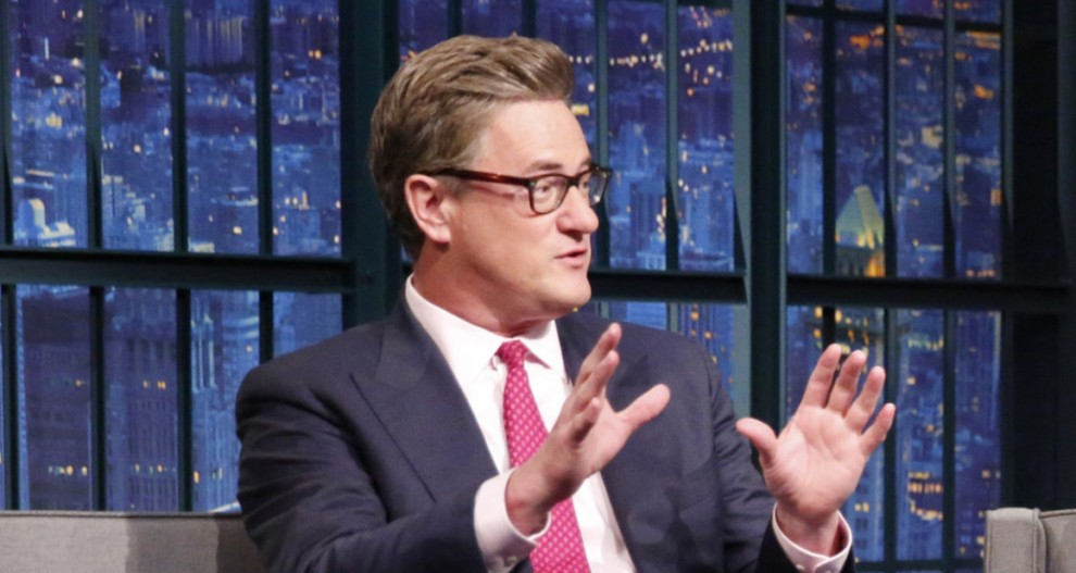 Joe Scarborough said he had a prearranged meeting with president-elect Donald Trump before his Mar-a-Lago party hoping to set up an interview. | Getty