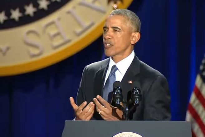 For President Obama, his farewell address wasn't so much of a retirement party, but a transitional speech that offered hints at what his post-presidential career will hold.