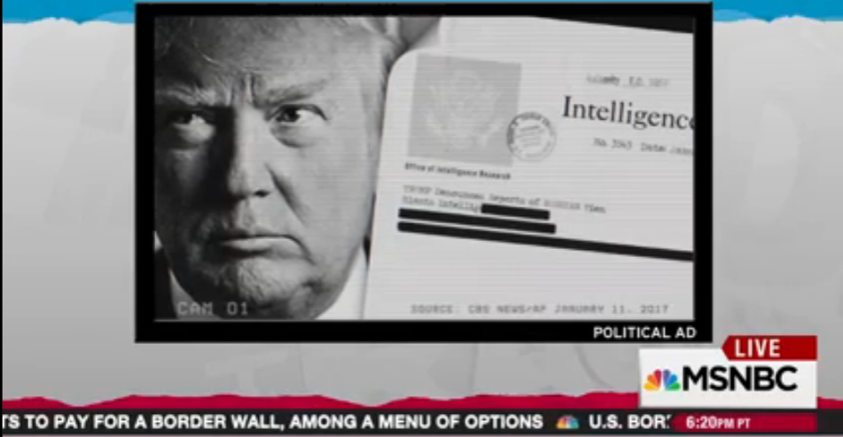 Rachel Maddow reports on concerns about Russia's influence over Donald Trump, and the likelihood that Russia's arrests of FSB members for treason is confirmation of some part of recent U.S. intelligence releases about Russia.