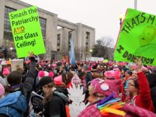 Here is a photo gallery from Washington, D.C. of the largest protest march in US history.