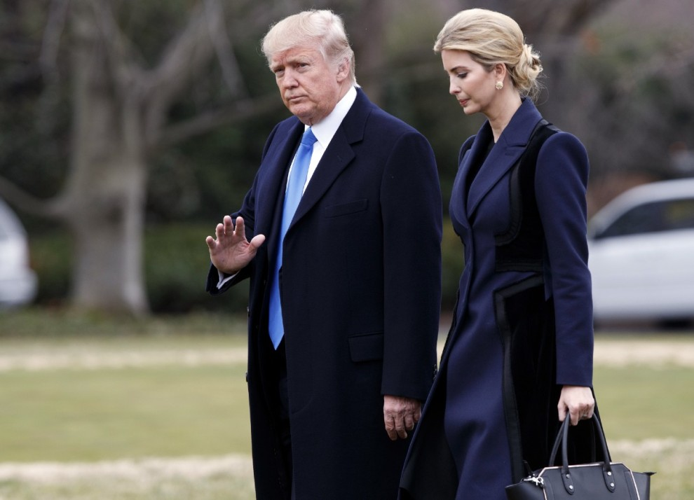 Trump took to Twitter to attack Nordstrom for dropping his daughter's products.