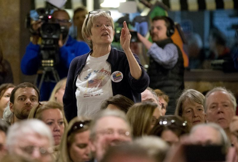 When lawmakers refuse to hold in-person town halls, groups in many districts are taking matters into their own hands.