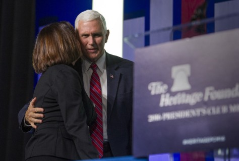 The Heritage Foundation won't accept any LGBT protections no matter the religious exemptions.