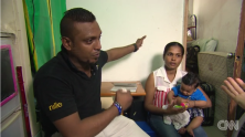 Hong Kong (CNN)Three asylum seeker families who sheltered US whistleblower Edward Snowden in 2013 say they are living in fear because of reports that Sri Lankan police officials have been in Hong Kong trying to search for them.