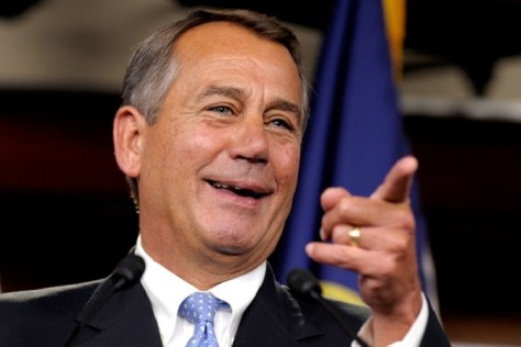 John Boehner (R-OH), under whom the House shut down the government in October of 2013 over Obamacare, said he started laughing at the idea of repealing Obamacare.