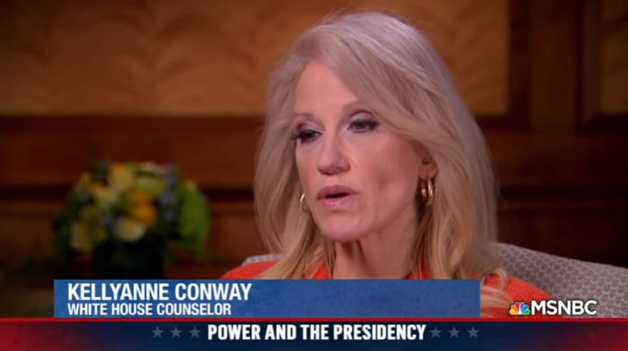 "CNN says they rejected the offer of Conway due to her lack of credibility. She lied about it, but Mika Brzezinski told CNN ""you are not the first."""