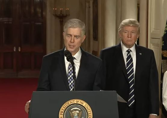 President Trump's Supreme Court nominee Neil Gorsuch has confirmed that he called Trump's attack on the judiciary branch of the US government disheartening and demoralizing.