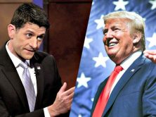 """Ryan isn't bothered with Trump's atrocities. He is thriving on Trump's chaos to """"slip in his own deplorable but more mundane agenda"""" without anyone noticing."""